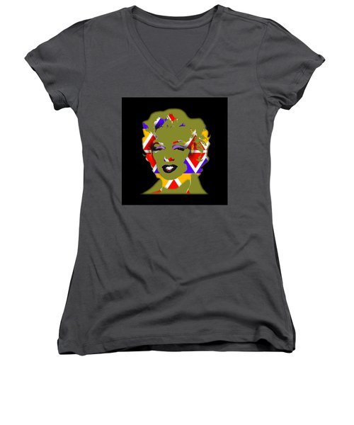 Some Like It Native Women's V-Neck T-Shirt (Junior Cut) by Charles Stuart