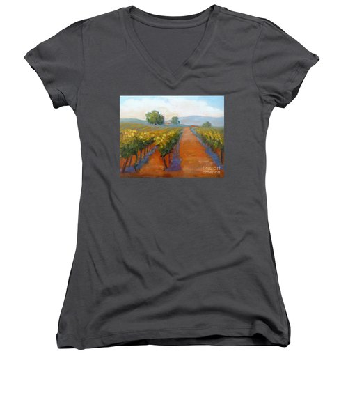Sonoma Vineyard Women's V-Neck