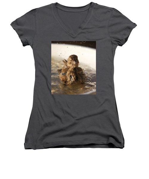 Sparrow Bathing Women's V-Neck