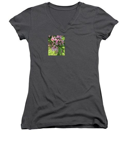 Spring Blossoms - Flower Photography Women's V-Neck T-Shirt