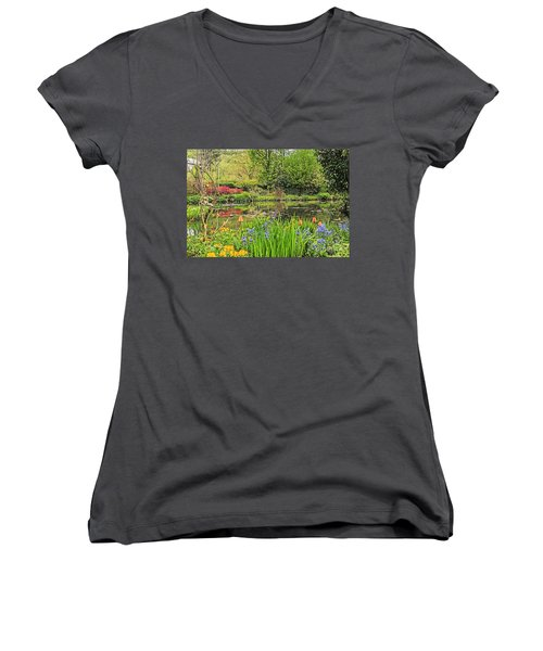 Spring Song Women's V-Neck T-Shirt