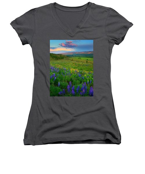Spring Storm Passing Women's V-Neck (Athletic Fit)