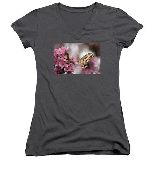 Springtime Women's V-Neck T-Shirt