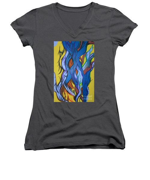 Sprouting Seed 2 Women's V-Neck