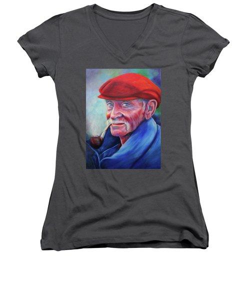 St. Francis Women's V-Neck T-Shirt
