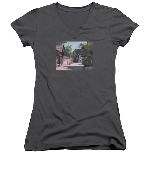 St. George Street II Women's V-Neck (Athletic Fit)