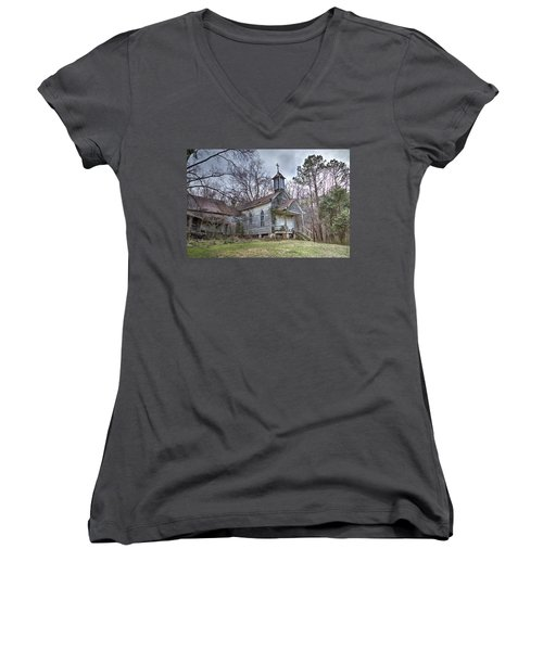 St. Simon's Church Women's V-Neck