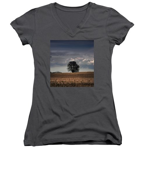 Stand Alone Women's V-Neck T-Shirt