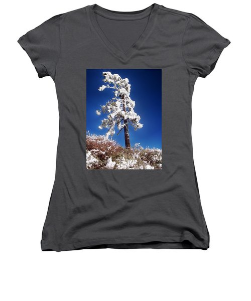 Standing Strong Women's V-Neck (Athletic Fit)