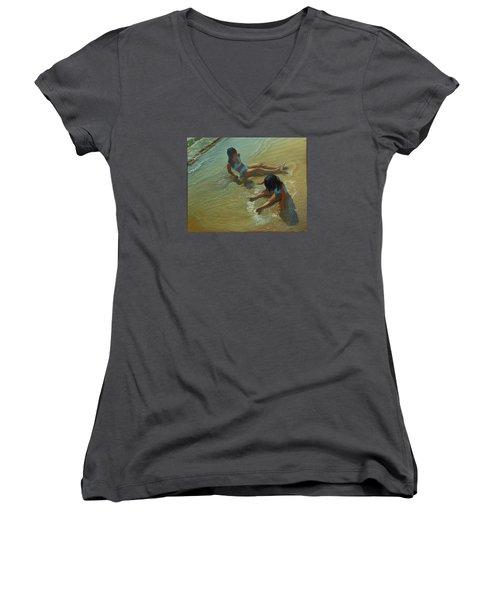 Star Maker Women's V-Neck T-Shirt