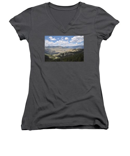 Starlight Basin Women's V-Neck