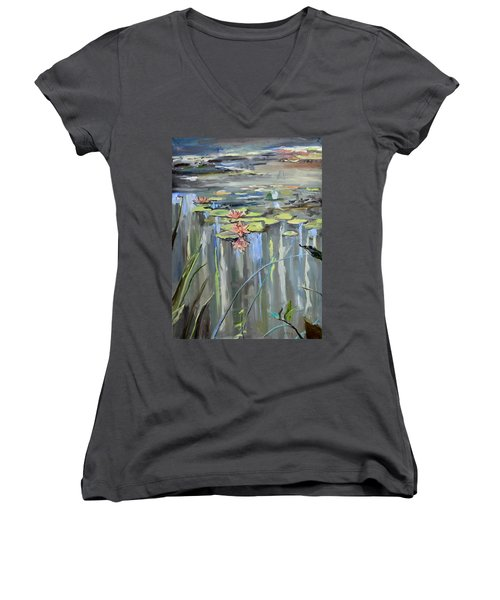 Still Waters Women's V-Neck (Athletic Fit)