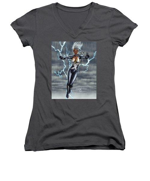 Storm Women's V-Neck