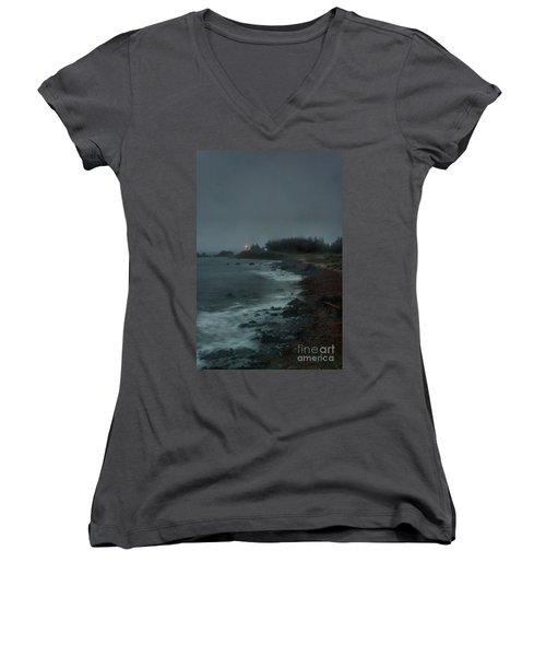 Stormy Seas Women's V-Neck T-Shirt