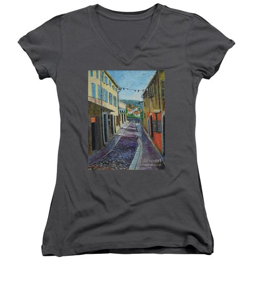 Street View From Provence Women's V-Neck