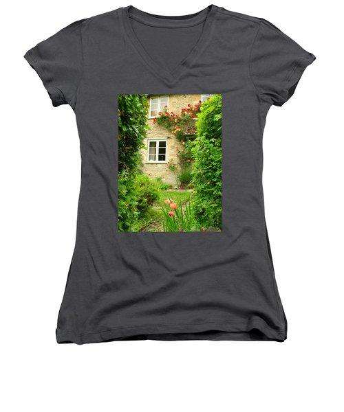 Summer Cottage Women's V-Neck T-Shirt
