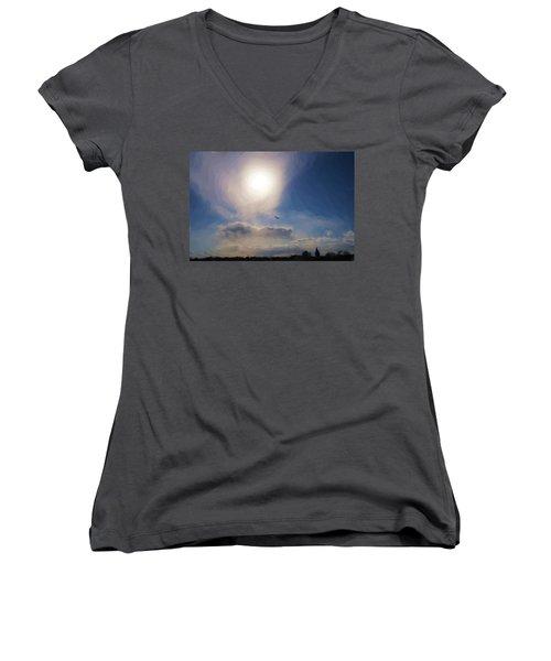 Sun And Skies Women's V-Neck
