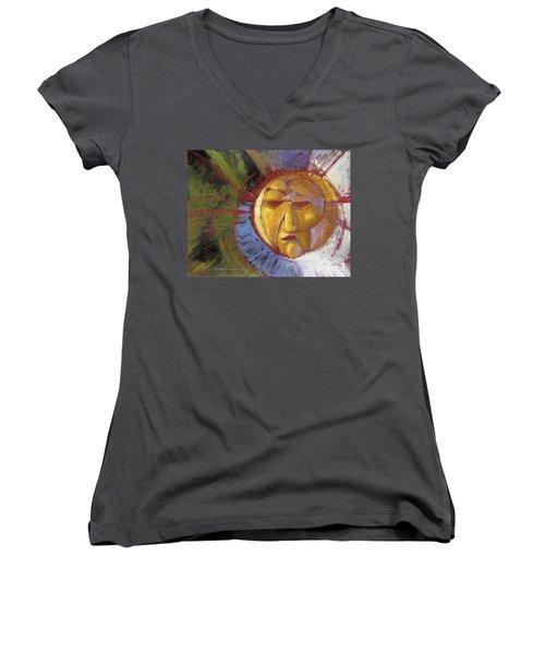 Sun Mask Women's V-Neck