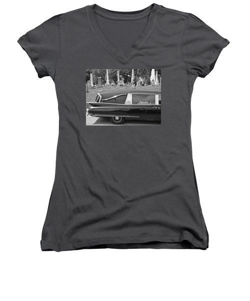 Superior Women's V-Neck T-Shirt (Junior Cut) by Alice Gipson
