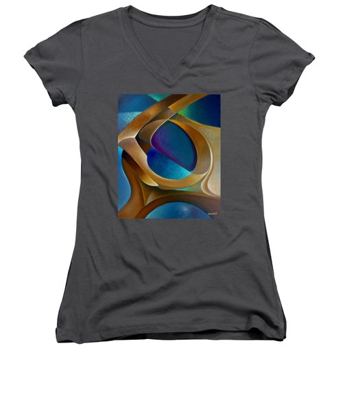 Support Women's V-Neck T-Shirt