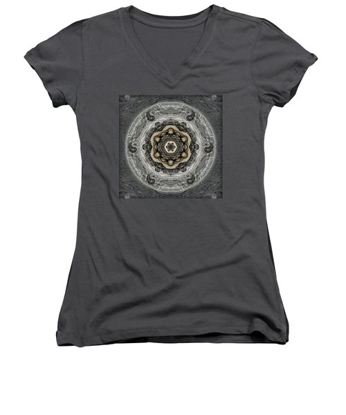 Surrender To The Journey Women's V-Neck T-Shirt