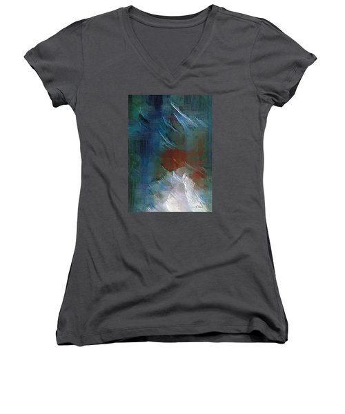 Swallowing Words Women's V-Neck