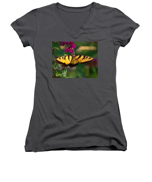 Swallowtail 1 Women's V-Neck
