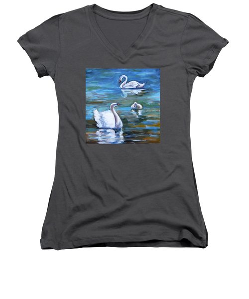 Swans Women's V-Neck