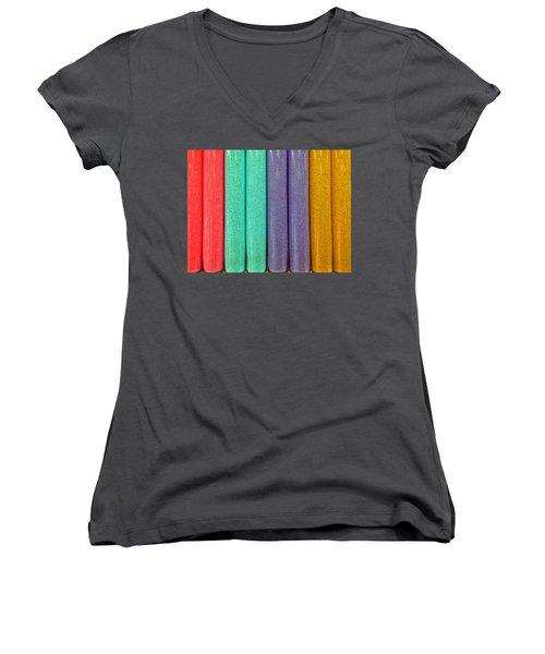 Sweet Colors Women's V-Neck