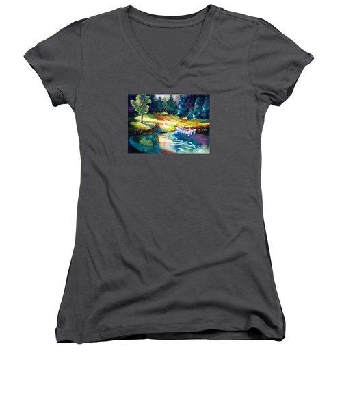 Taking A Break 2 Women's V-Neck T-Shirt