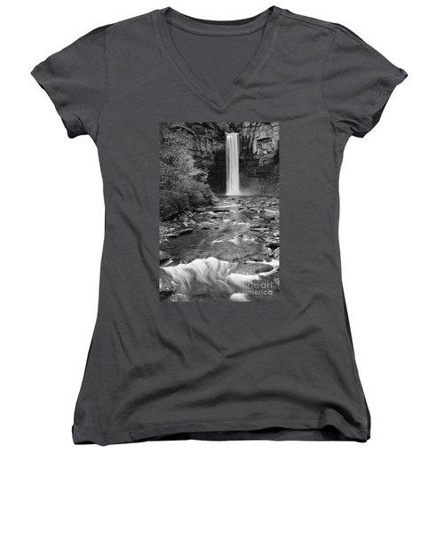 Taughannock Monochrome I Women's V-Neck T-Shirt