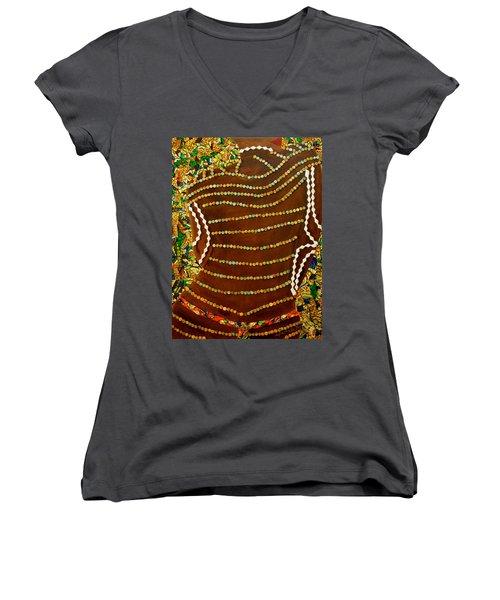 Temple Of The Goddess Eye Vol 2 Women's V-Neck