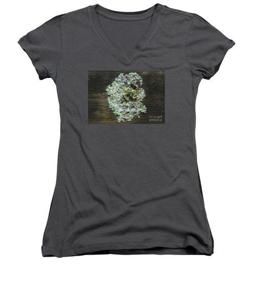 Tenacity Women's V-Neck T-Shirt (Junior Cut) by Michelle Twohig