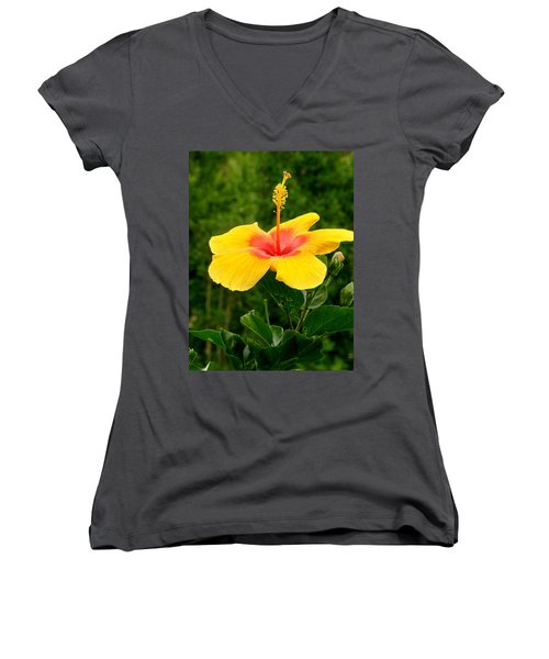 Tequila Sunrise Women's V-Neck