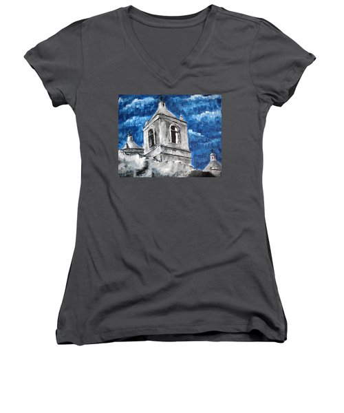 Texas Mission Women's V-Neck T-Shirt