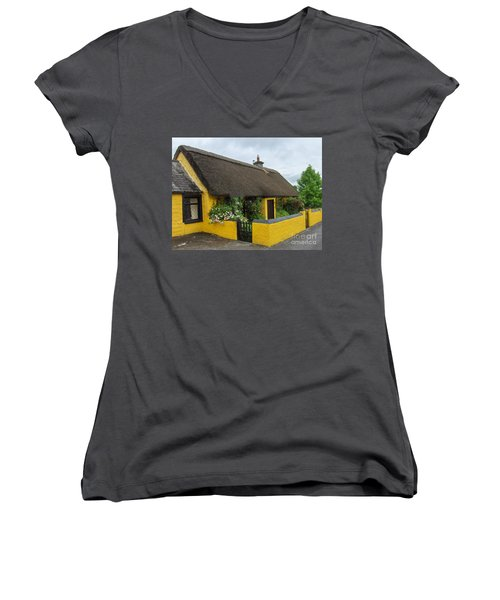 Thatched House Ireland Women's V-Neck (Athletic Fit)