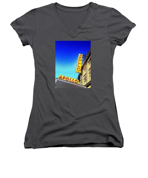 The Apollo Women's V-Neck T-Shirt