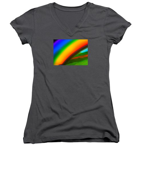 The Arch Of Love Women's V-Neck T-Shirt