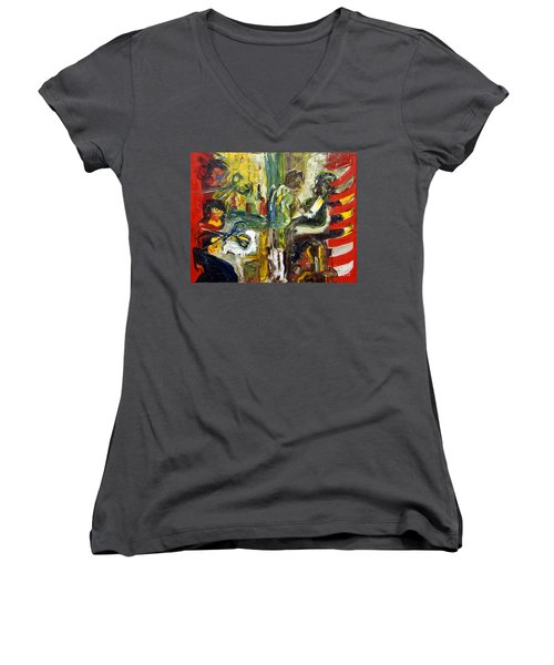 The Barbers Shop - 1 Women's V-Neck