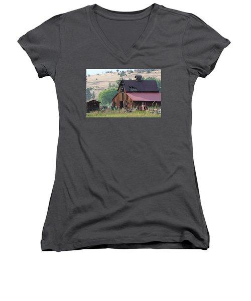 The Barn Women's V-Neck