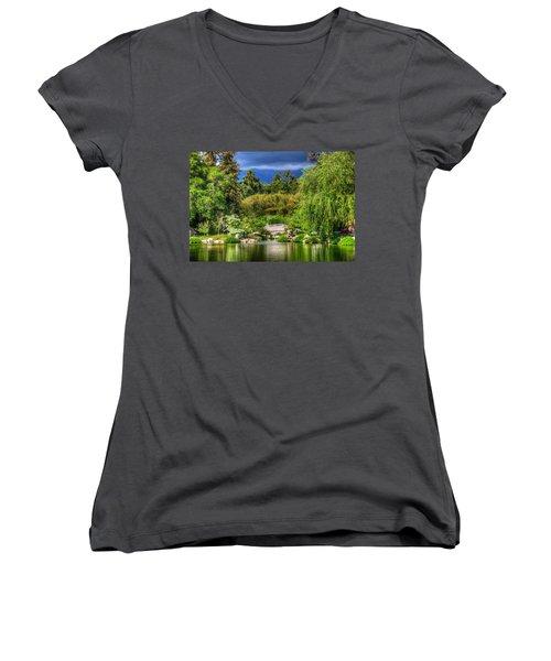 The Bridge 12 Women's V-Neck T-Shirt