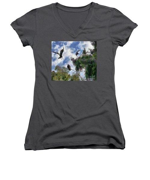 The Buzzard Tree Women's V-Neck