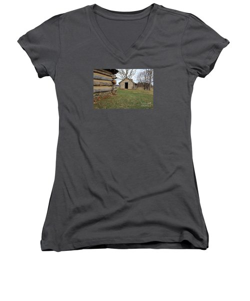 The Cabins Women's V-Neck (Athletic Fit)