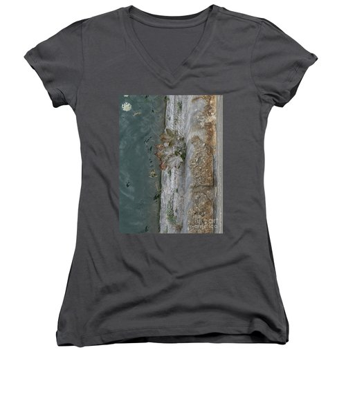 The Canal Water Women's V-Neck T-Shirt
