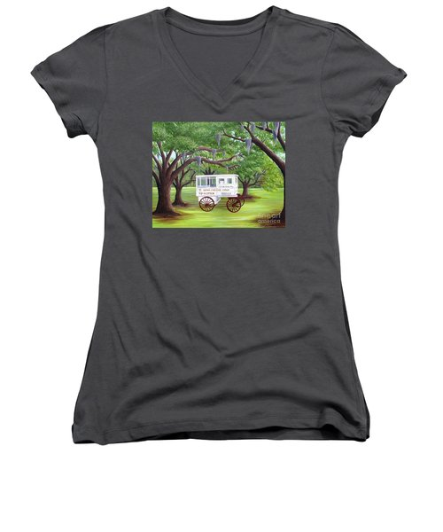 The Candy Cart Women's V-Neck (Athletic Fit)