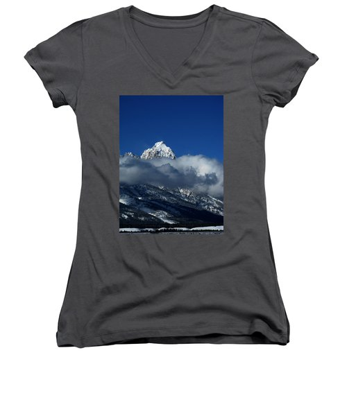 The Clearing Storm Women's V-Neck (Athletic Fit)