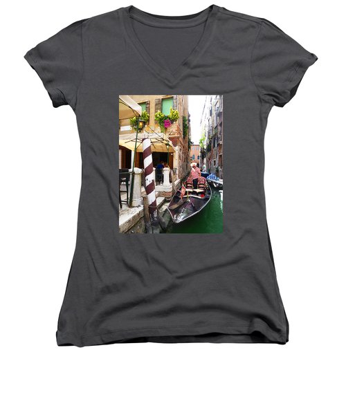 The Colors Of Venice Women's V-Neck