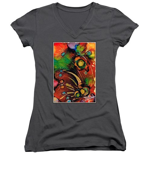 The Colours Of My Mind.. Women's V-Neck