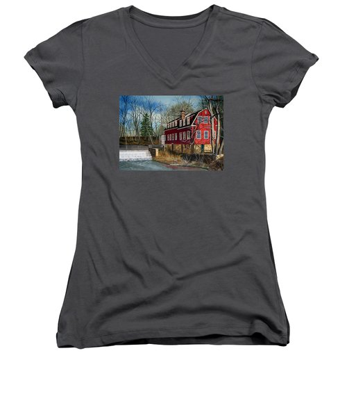 The Cranford Mill Women's V-Neck (Athletic Fit)
