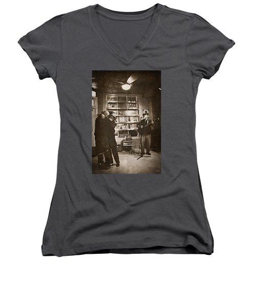 The Dance Women's V-Neck T-Shirt